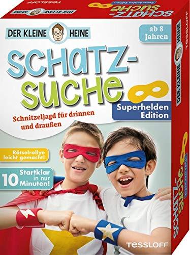 Tessloff Der kleine Heine. Schatzsuche. Superhelden Edition. Schnitzeljagd für drinnen und draußen