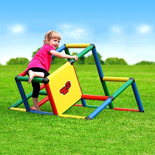 Quadro   My First Klettergerüst für drinnen und draußen   Fördert Entwicklung von Kindern   Beliebig modular & erweiterbar   6 Jahre Garantie   Ab 6 Monaten bis 6 Jahren