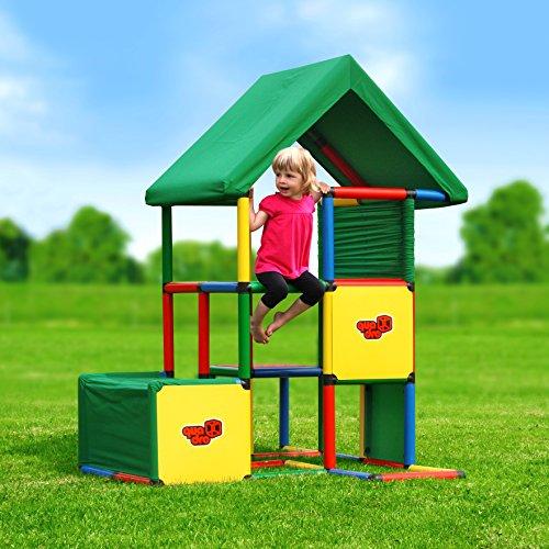 Quadro   Universal   Klettergerüst für drinnen und draußen   Fördert Entwicklung von Kindern   Beliebig modular & erweiterbar   6 Jahre Garantie   Ab 1 bis 6 Jahren