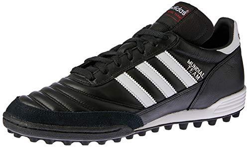 adidas Unisex-Erwachsene Mundial Team Fußballschuhe, Schwarz (Black/Running White Ftw/Red), 42 2/3 EU