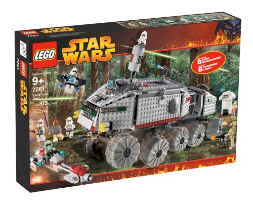 Star Wars Lego Episode III Clone Turbo Tank #7261 by LEGO