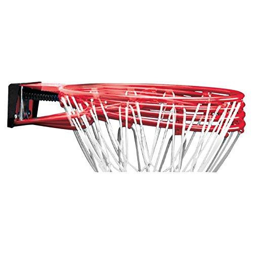 Spalding Herren Basketball NBA Slam Jam Rim Backboard, rot, NOSIZE