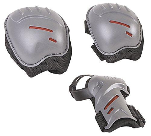 HUDORA Protektoren-Set Kinder, biomechanisch, Gr. S (ca. 3 - 7 Jahre) - Schutzausrüstung Inliner Skater, Rollschuhe - 83161/AM