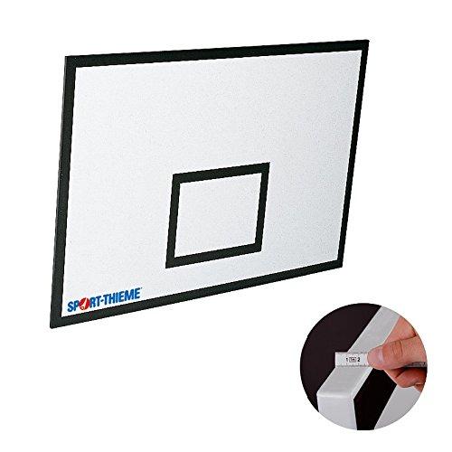 Sport-Thieme Basketball-Board aus GKF | Glasfaserverstärkt | Indoor Backboard Basketball | Nach DBB und FIBA-Vorgaben | Basketballrückwand in 3 verschiedenen Größen| Markenqualität