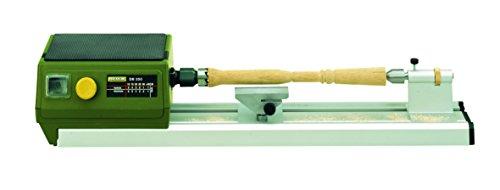 Proxxon Micro Drechselbank DB 250 (elektronische Drehzahlregelung, für Modellbau, Planscheibe für große Werkstücke) 27020