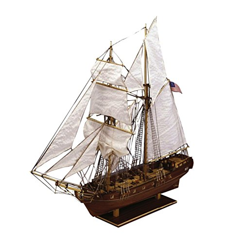 Jumbo Spiele D80837 Constructo Enterprise Maryland 1799, 1:51 Holzbausatz