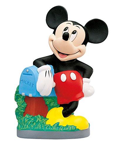 Bullyland 15209 - Spardose, Walt Disney Classics Mickey Mouse, ca. 24 x 18 cm, tolle Sparbüchse, verschließbare Figur, ideal als Geschenk und Dekoration für Sammler und Kinder