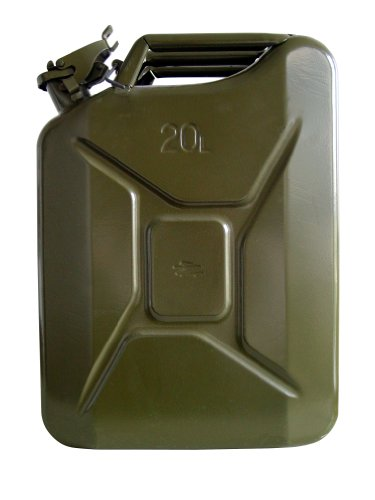UNITEC 73855 Benzinkanister 20L Stahlblech