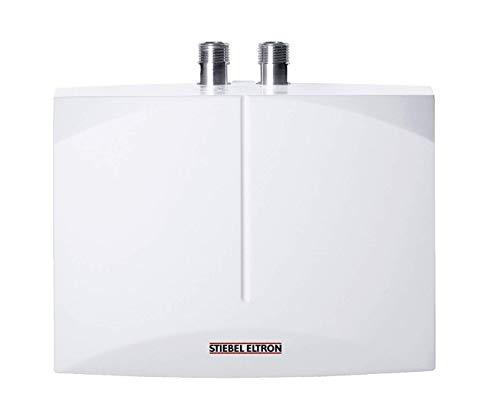 STIEBEL ELTRON hydraulisch gesteuerter Klein-Durchlauferhitzer DNM 6, 5.7 kW, drucklos, Handwaschbecken, Über-/Untertisch, 185418