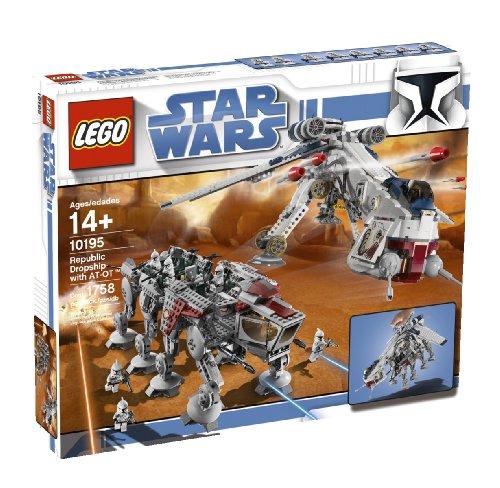 LEGO Star Wars 10195 - Republic Dropship mit at-OT Walker