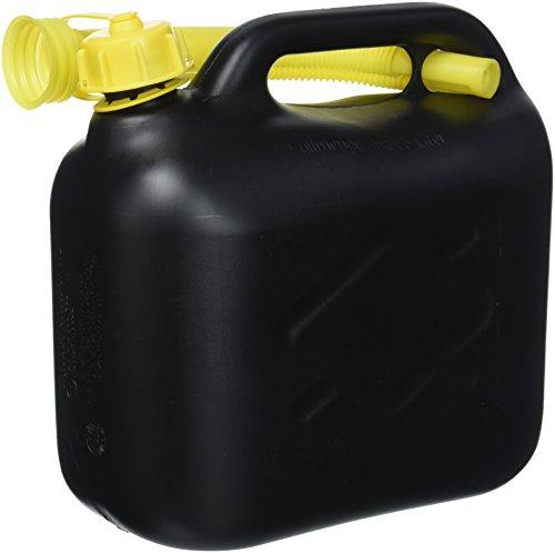 Cartrend 7740055 Reserve Kraftstoff-Kanister, PVC, UN-Zulassung, Schwarz, 5 Liter