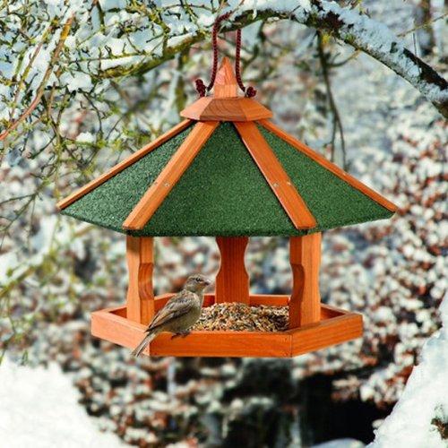 Karlie Bird\'S World Wild Vogelhaus Rena 44 x 44 x 36 cm, Naturholz
