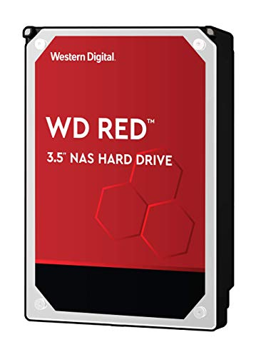 "WD Red 1TB 3.5\"" NAS Interne Festplatte - 5400 RPM - WD10EFRX"