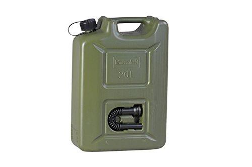 hünersdorff Kraftstoff-Kanister PROFI 20l für Benzin, Diesel und andere Gefahrgüter