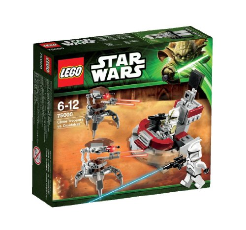LEGO Star Wars 75000 - Clone Trooper vs. Droidekas