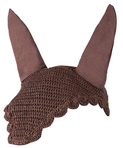 Pfiff Fliegenhaube mit Ohrenschutz für Pferde, 5 Farben verfügbar, Größe Full/Warmblut
