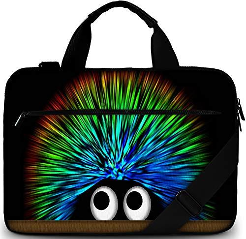 Sidorenko Laptoptasche 15/15,6 Zoll - Moderne Notebooktasche aus Canvas - Hochwertige Laptop Tasche - Schmutz- & Wasserabweisende Laptop Bag mit Zubehörfach