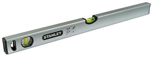 Stanley Wasserwaage Klassik (100 cm Länge, magnetisch, schlagfeste Blocklibelle, große Seitenlibelle) STHT1-43113