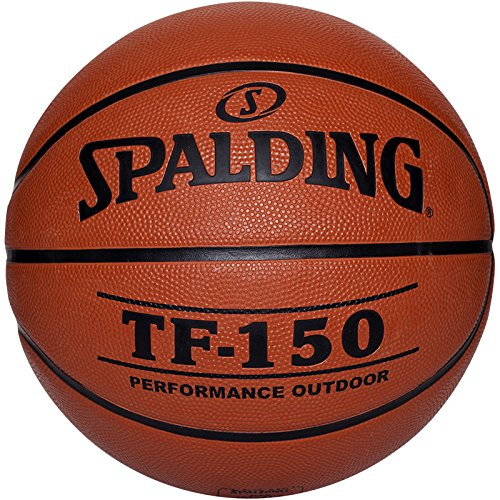 Spalding Tf150 Out Sz.6 Basketball Ball, orange, 6
