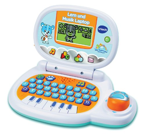 VTech 80-139504 Lern und Musik Laptop, blue