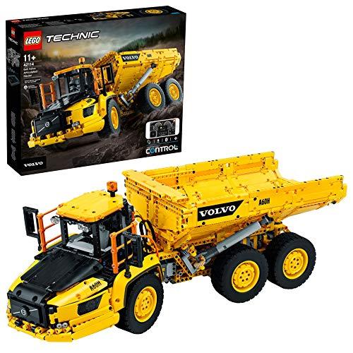 LEGO 42114 Technic Knickgelenkter Volvo-Dumper (6x6), Modellbauset