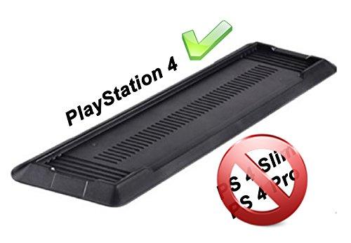 Gaminger Playstation 4 Standfuß Vertikal Stand - Zum sicheren vertikalen Aufstellen der PS4 Konsole - Nicht PASSEND FÜR PS4 Slim/Pro, dafür Bitte anderes Modell auswählen
