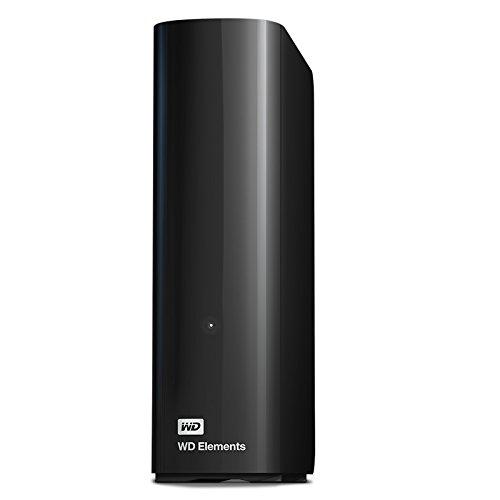 Western Digital 4TB Elements Desktop externe Festplatte USB3.0 -WDBWLG0040HBK-EESN