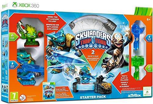 Activision Starter Pack + Skylanders Trap Team Spielzeug Hybrid Konsole kompatibel Microsoft Xbox 360
