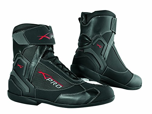 A-Pro Wasserdichte Schuhe Motorrad Stiefel Sport Touring Roller Schwarz 44