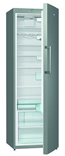Gorenje R6192FX Kühlschrank / Höhe 185 cm / Kühlen: 368 L / Dynamic Cooling-Funktion / 7 Glasabstellflächen