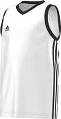 adidas Basketball Teamsport Kinder commander Kinder Wht/black , Größe adidas:152