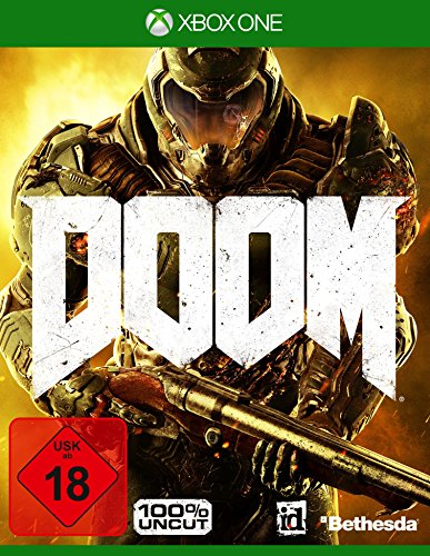 DOOM - 100{52af952f21e6ef92c1fddb672ed883c9059cf75fb1517e695a818b7921976e71} Uncut - Day One Edition - [Xbox One]