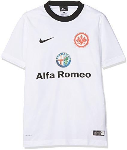 Nike Kinder Eintracht Frankfurt Away Supporters 2014/2015 Trikot, Weiß/Schwarz, L/147-158 cm
