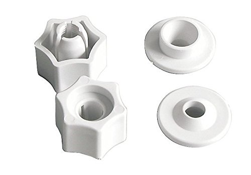 Sitzplatz 65060 1 Schnell-Befestigung für WC-Sitze, Fast-Fix Schnellbefestigung 8 mm