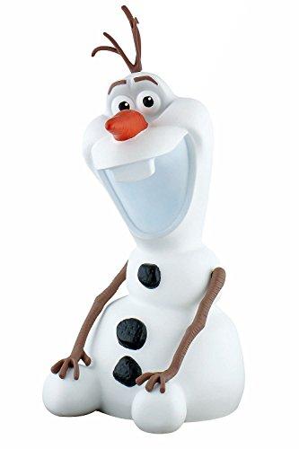 Bullyland 12104 - Spardose, Disney Die Eiskönigin - Frozen, Schneemann Olaf, ca. 26 x 11 cm, tolle Sparbüchse für Kinder, verschließbare Figur, ideal als Geschenk und Dekoration