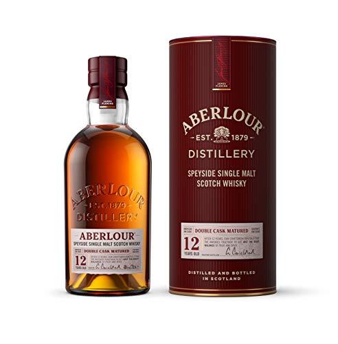 Aberlour 12 Jahre Highland Single Malt Scotch Whisky, Double Cask Matured Scotch Single Malt Whisky (1 x 0,7 L)