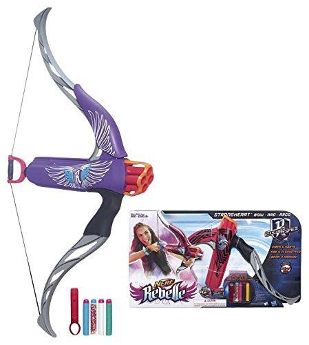 Hasbro B0862EU4 - Nerf Rebelle Strongheart, sortiert