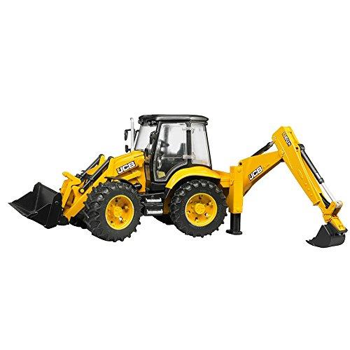 bruder 02454 Toys Baggerlader JCB 5CX eco, Mehrfarbig