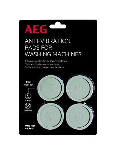 AEG A4WZPA02 Schwingungsdämpfer / Herstellernummer: 9029795276 / Anti-Vibrationskissen / 4er-Set / Sicherer Stand für Ihre Geräte / AEG Zubehör für Waschmaschinen / Durchmesser: 4,5 cm