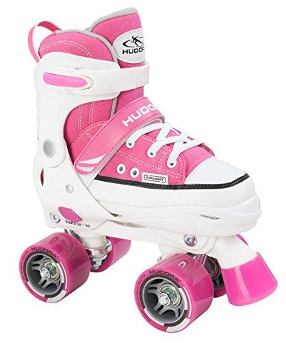 HUDORA Rollschuhe Roller Skate Kinder Rollschuhe, pink, 32-35
