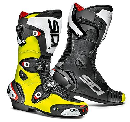 Sidi MAG-1 Motorradstiefel, Gelb Fluo-Schwarz, Größe: 45