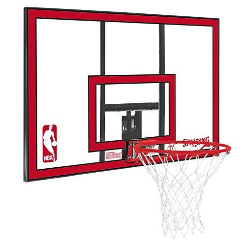 Spalding Korbanlage NBA Polycarbonat Backboard Basketball, red, One size