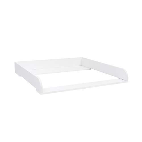 Extra Rundkante H! Wickelaufsatz, Wickeltischaufsatz für IKEA Hemnes Kommode