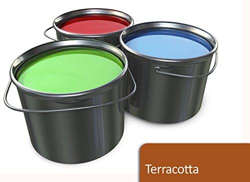5L Garagenbodenfarbe in Terracotta für Halle, Keller, Garage TÜV-GEPRÜFT Bodenfarbe Betonfarbe Boden Farbe