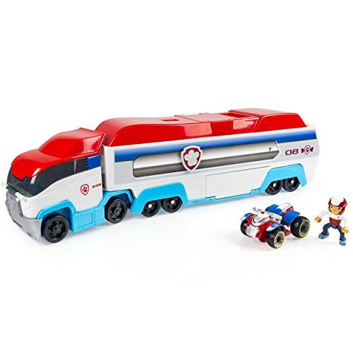 PAW Patrol 6024966 - Paw Patroller, Teamfahrzeug - LKW/Bus/Transporter, mit Ryder Fahrzeug und Figur