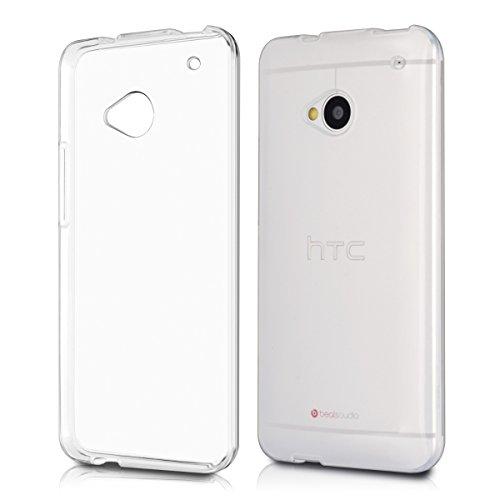kwmobile HTC One M7 Hülle - Handyhülle für HTC One M7 - Handy Case in Transparent
