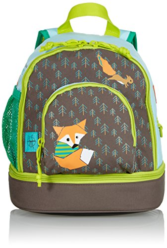 Lässig Mini Backpack Kinderrucksack Kindergartentasche, Brotdosenfach unten, Little Tree Fox