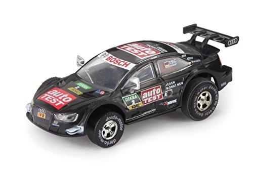 """Darda 50384 - Darda Auto Audi RS 5 DTM \""""Scheider\"""" schwarz, ca. 8 cm, Rennauto mit auswechselbaren Rückzugsmotor, Fahrzeug mit Aufziehmotor für Kinder ab 5 Jahre, Aufziehauto für Darda Rennbahnen"""