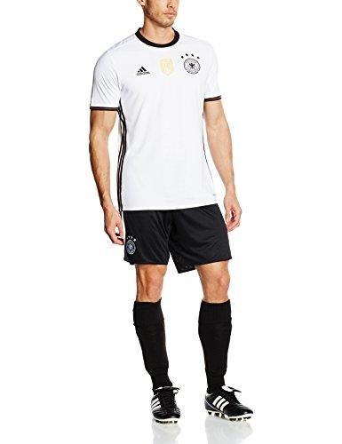 adidas Herren Heimtrikot UEFA Euro 2016 DFB Replica, weiß/schwarz, L