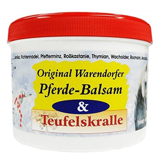 Warendorfer Pferdebalsam mit Teufelskralle - Pferdesalbe - erfrischend - kühlend - mit angenehmen Geruch (500ml)